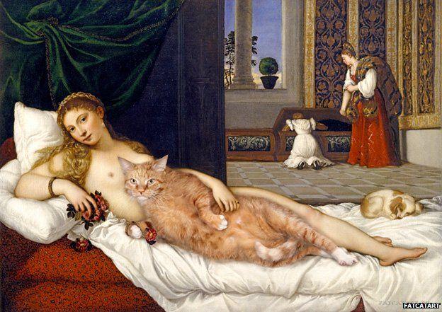 Venus of Urbino happily ever after, based on Titian, Svetlana Petrova