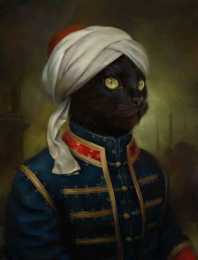 Eldar Zakirov, Hermitage Cats (2)