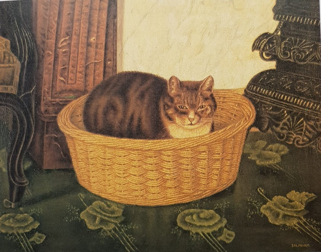 "Cat in a Basket, Salomon ""Sal"" Meijer"