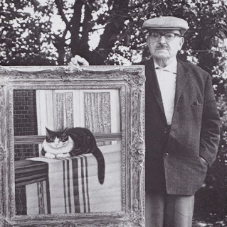 Sal Meijer (1878 Amsterdam, The Netherlands - 1965 Blariicum, The Netherlands) cat artist