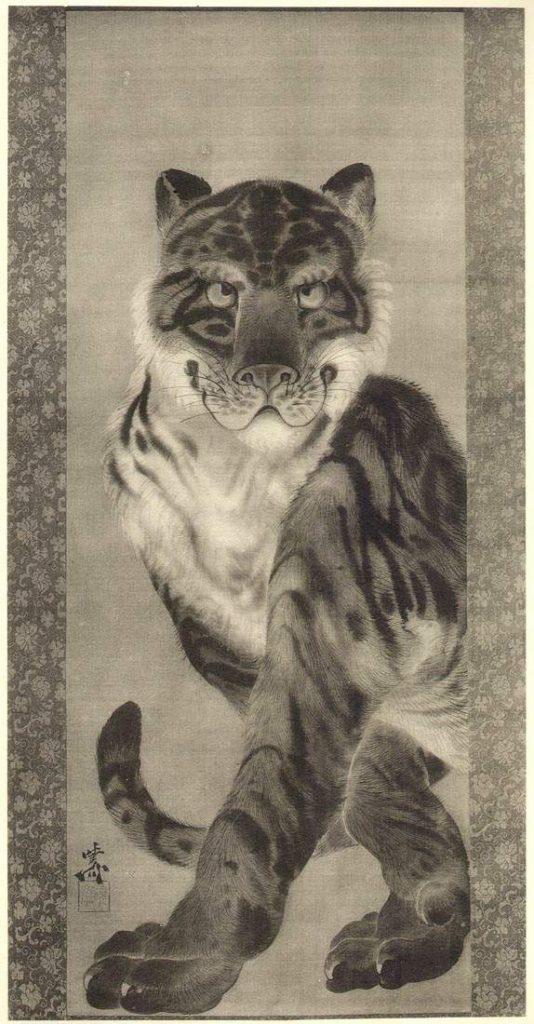 Kawanabe Kyosai, Tiger