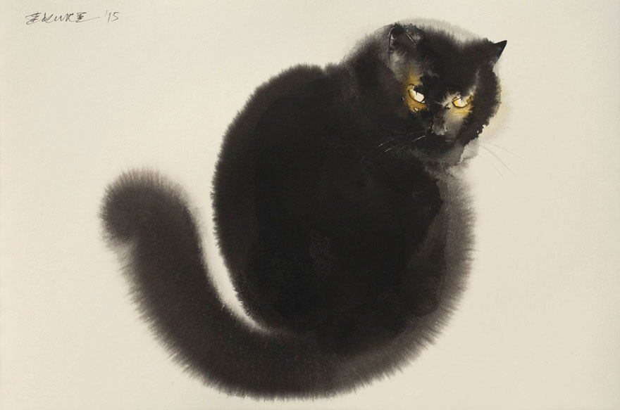 Endre Penovac, Black Cat Looking Back