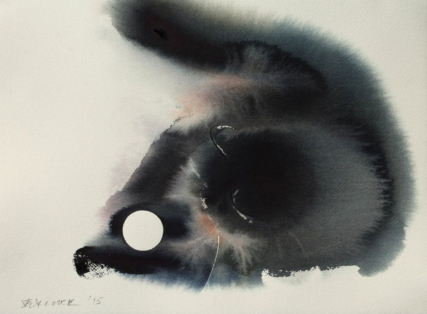 Endre Penovac, Cat Playing