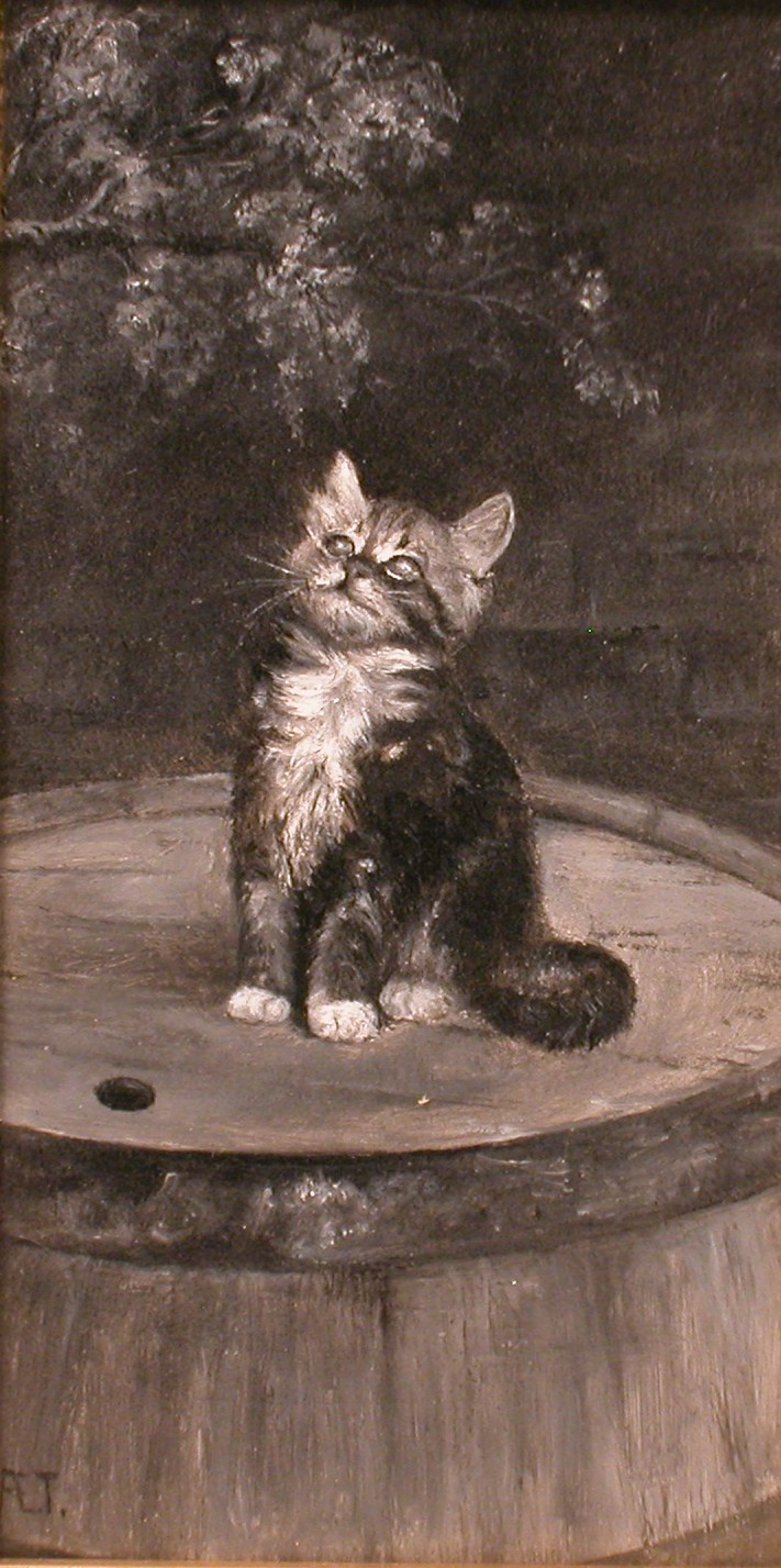 Kitten by Ada Elizabeth Tucker