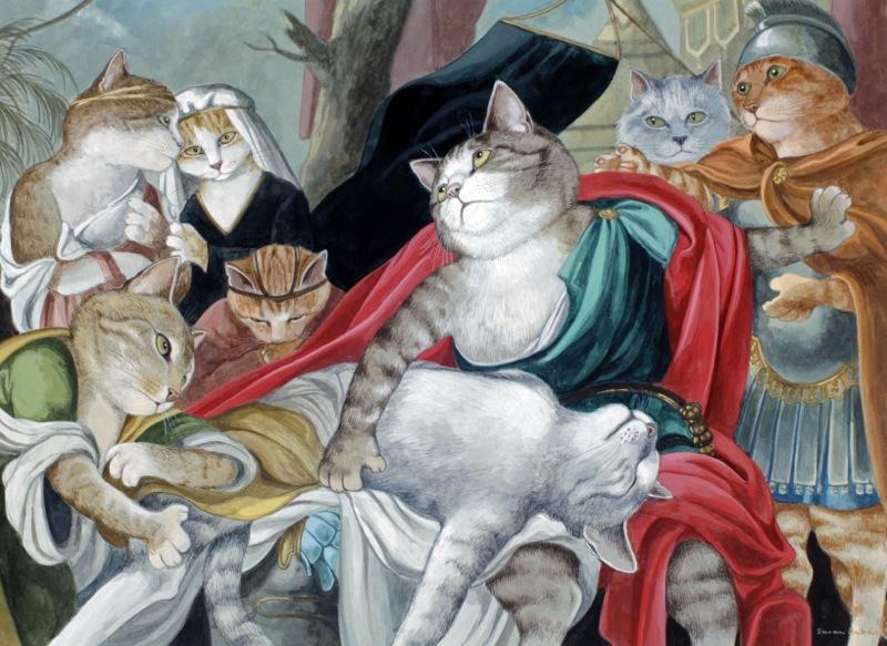 Susan Herbert, 12 Achilles Lamenting the Death of Patroclus Hamilton