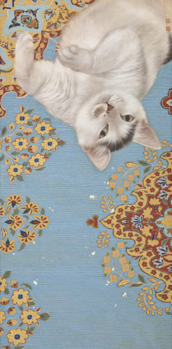 cats in Asian art