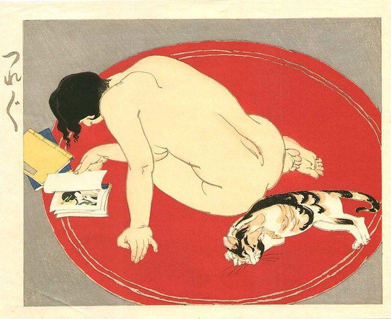 Toraji (1875 - 1964) - Bored, 1935