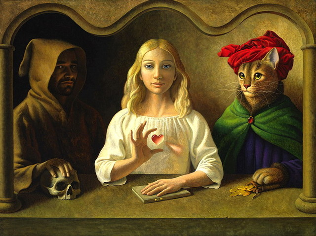 cats in fine art