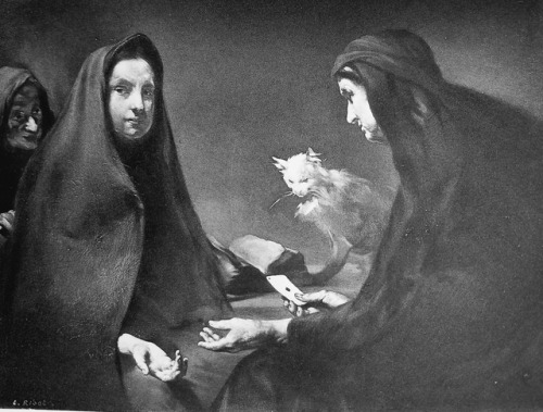 The Fortune Teller' Théodule Ribot from The Salon of 1891.
