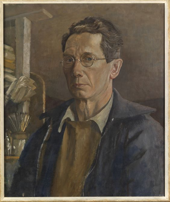 John Aldridge, Self Portrait 1946
