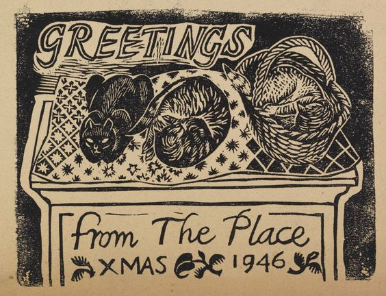 The Place Christmas Greetings,1946