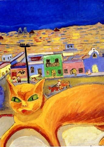 Carmen Mondragon, Nahui Olin Orange cat