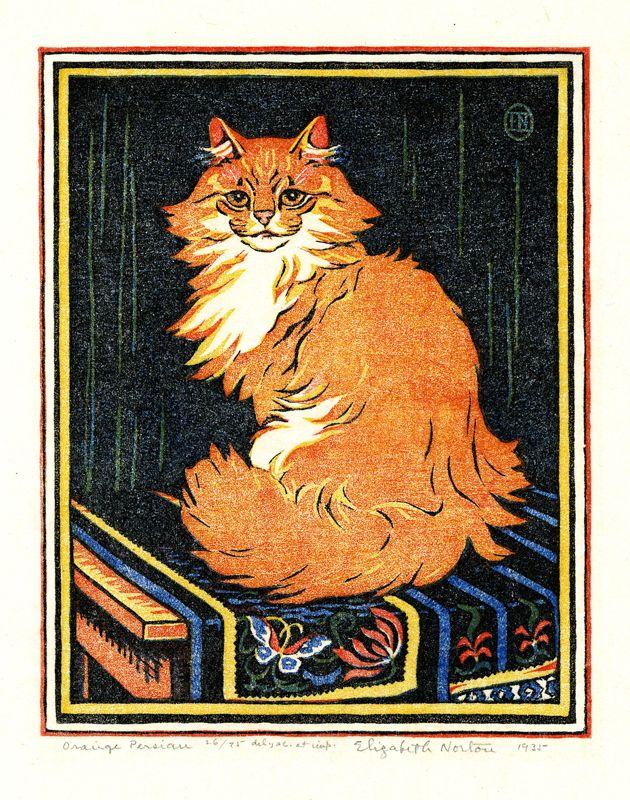 Orange Tabby, Elizabeth Norton, 1926