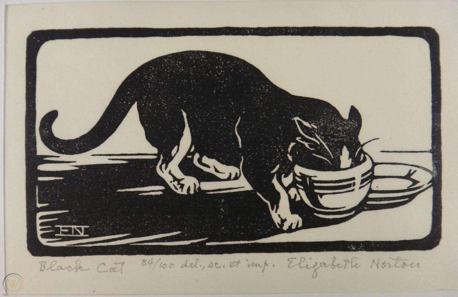Tuxedo Cat, Elizabeth Norton