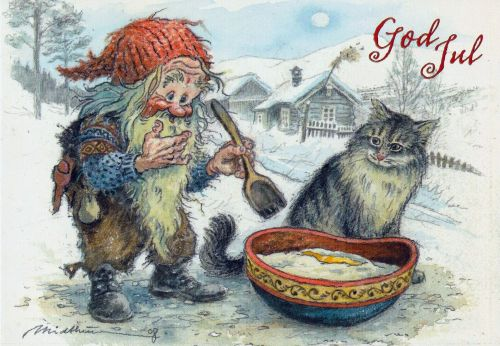 The Cat on the Dovrefjell Christmas Story