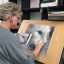 Chrissie Snelling Cat Artist