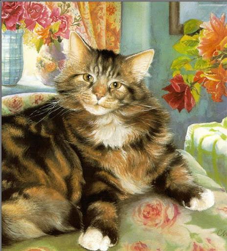 Chrissie Snelling, Tabby Cat