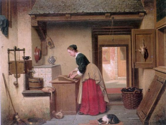 In the Pantry with Cat, Charles Joseph Grips