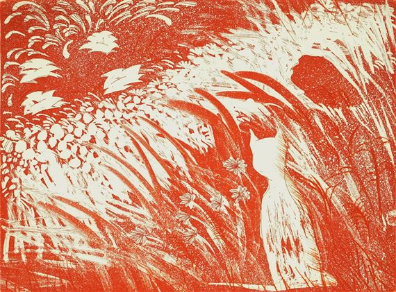 12 The Cat's Garden, Charles R Blackman