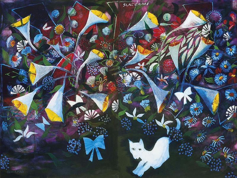 4 Alice in the Cat's Garden 1969, Charles R. Blackman