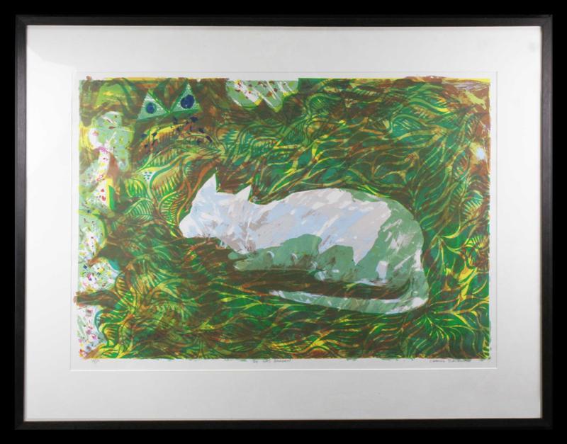 9 The Cats Garden, Charles R. Blackman