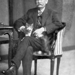 Benito Perez Galdos, writer and cat lover