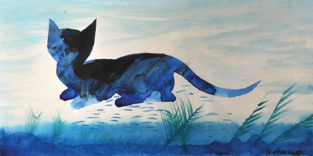 Blue Cat, Charles Raymond Blackman