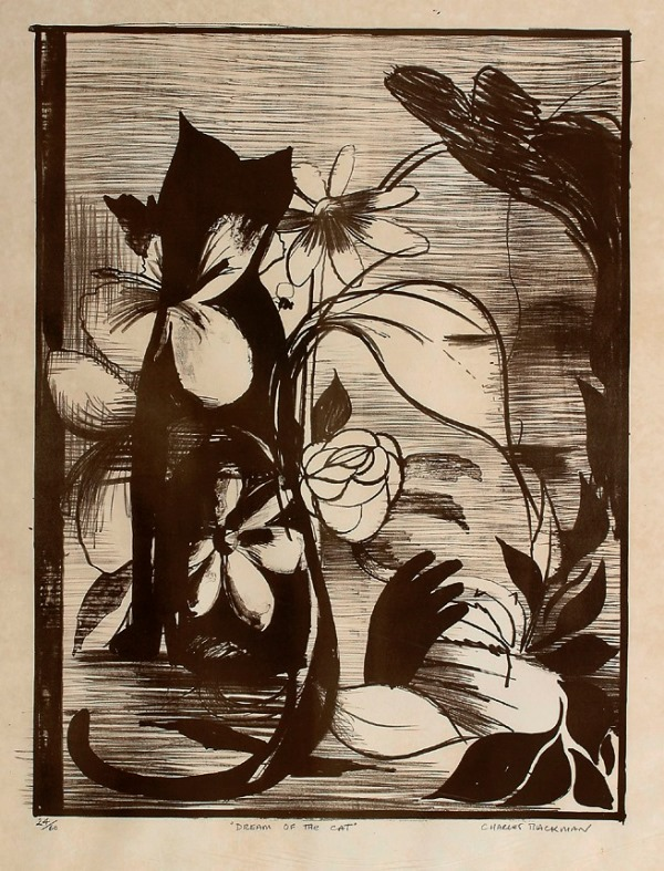 Dream of the Cat, Charles Blackman