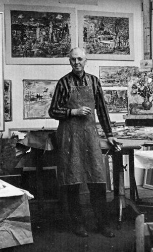 Francis Chapin, Cat artist