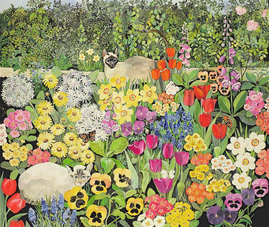 Spring Cats, Hilary Jones