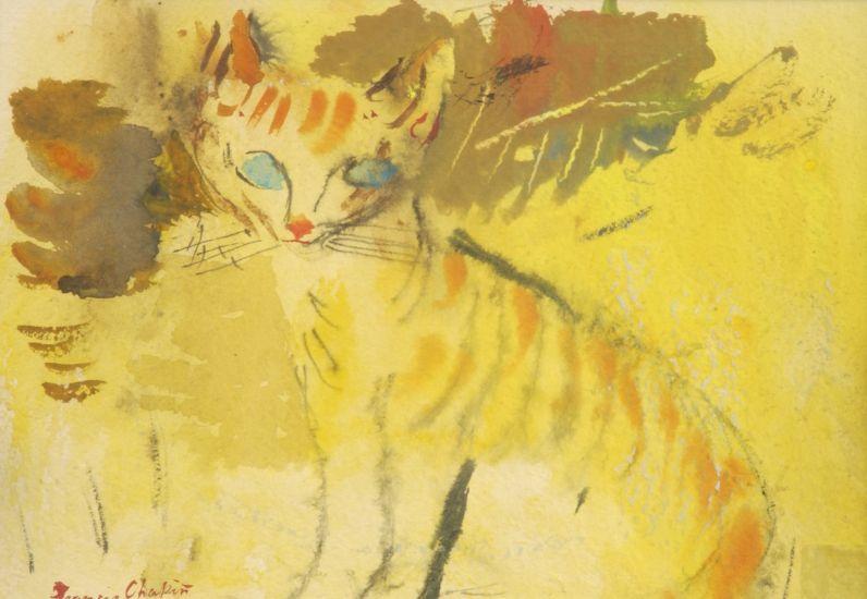 Yellow Cat, Francis Chapin