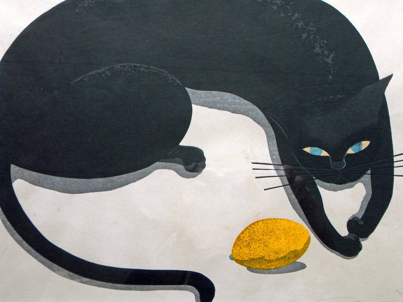 Black Cat and Lemon