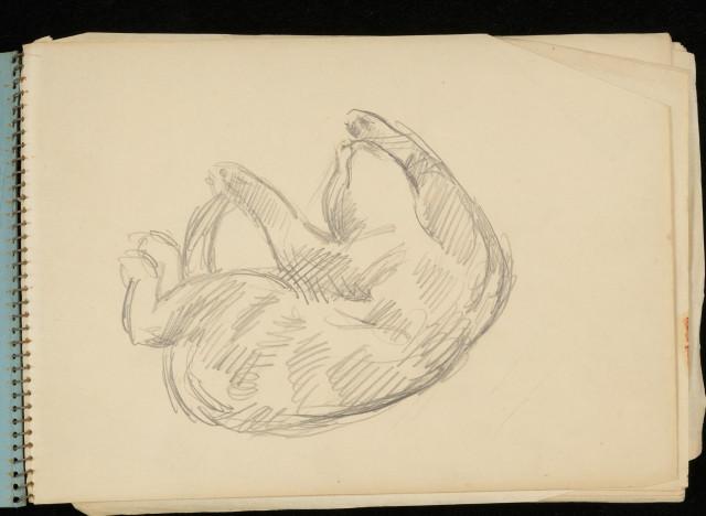 Duncan Grant, cat art