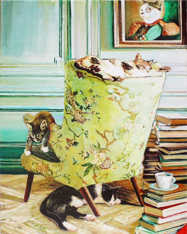 The Great Cat in Art, History and Literature