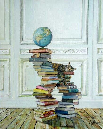 Timothy Adam Matthews cat art