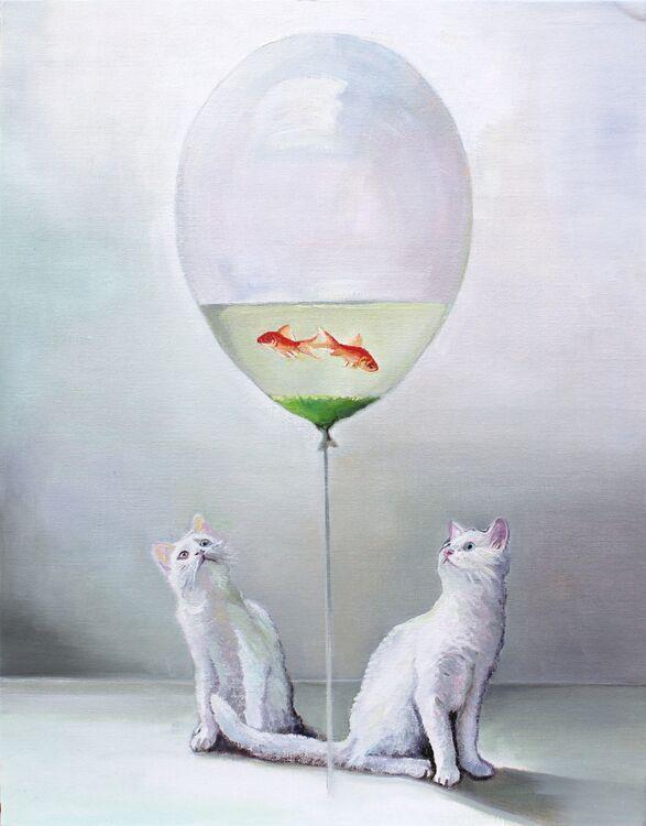 17-Timothy Adam Matthews Fish Balloon Kitties