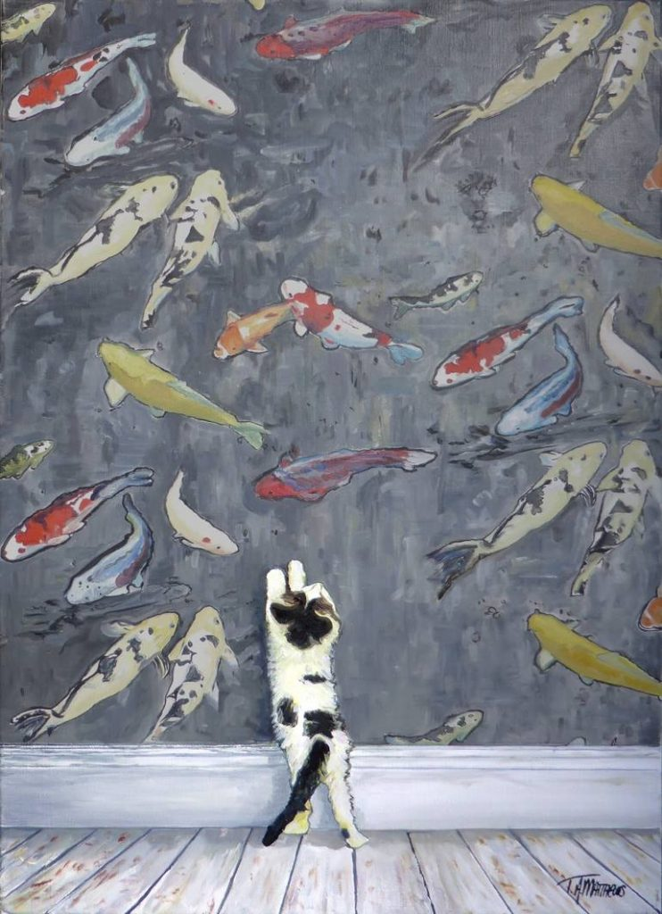 contemporary cat artists at The Great Cat