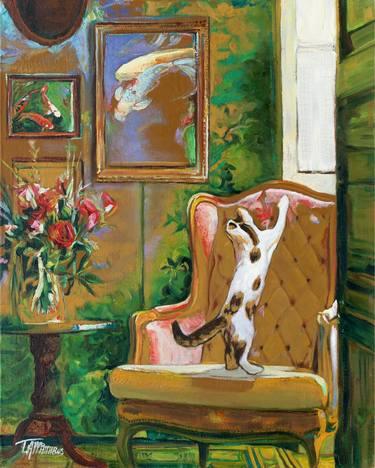 cat art at The Great Cat