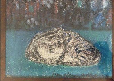 JOhn Alonzo Williams, Resting Cat