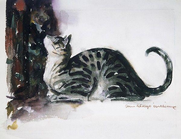 John Alonzo Williams, The Watchful Cat